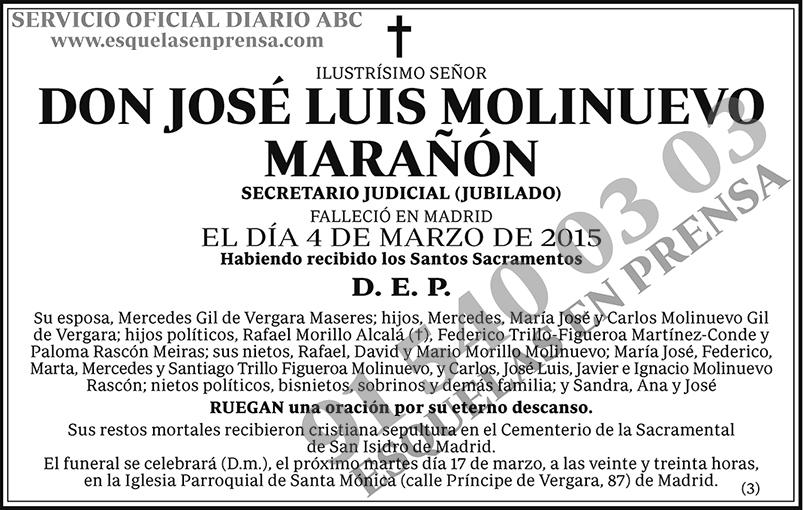 José Luis Molinuevo Marañón